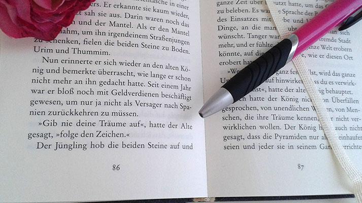 "Textauszug ""Der Alchimist"""